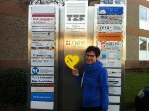 Die SWR1 Herzenssache Spendenbox wartet auf Ihre Spende
