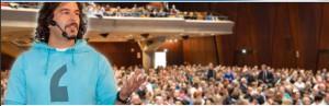 Wenn Erwin Markowsky die Bühne betritt, dann schweigt das Publikum
