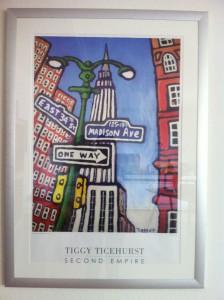 Mein Geheimtipp: Tiggy steht meist vor dem Metropolitan - seine Kunst ist erschwinglich