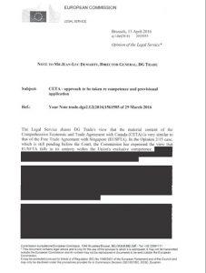 So sieht die Transparenz-Initiative der EU-Kommission aus: Ausschnitt aus den geschwärzten Unterlagen der EU-Kommission