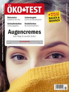 Cover ÖKOTestheft August 2018