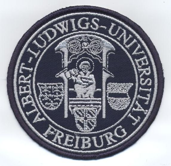 Sticker mit Uni-Logo
