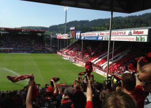 Dieses Foto wurde im Stadion des SC Freiburg aufgenommen