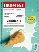 Ökotest Heft-Cover Vanilleeis