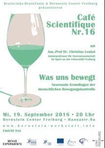 Café Scientifique am 19.09.2018