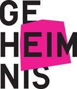 Logo der Ausstellung Geheimnis im Museum für Kommunikation in Berlin