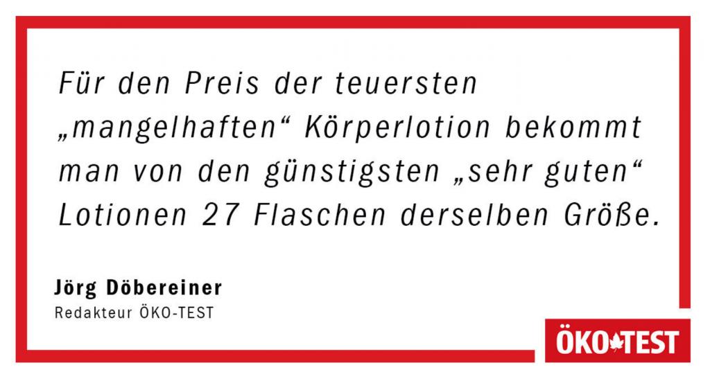 Zitat von Jörg Döbereiner, Redakteur Ökotest