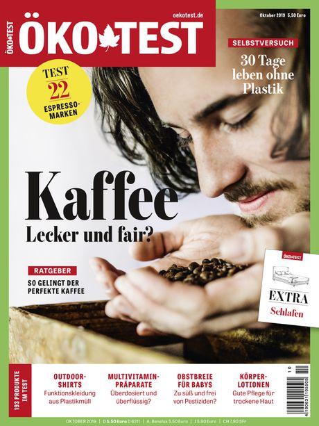 ÖKOTest Cover 10/2019