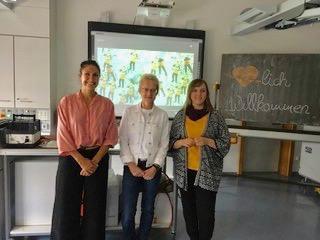 Sie haben das Projekt betreut: Clarissa Schuritzer, Medienpädogin, Iris Steinhäuser, Stadtbibliothek, Franziska Schmelz, Nachmittagsbetreuung