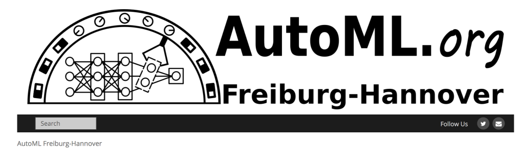 Foto zeigt das Logo von AutoML.org