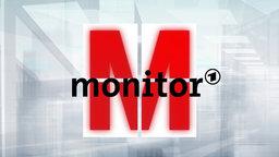 Das Foto zeigt das Logo der Sendung Monitor, WDR