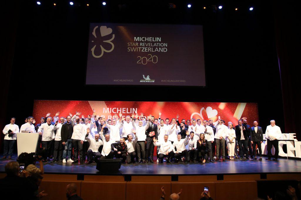 Die Schweiz wird erneut als Paradies für Gourmets bestätigt. Das Foto zeigt die Preisverleihung