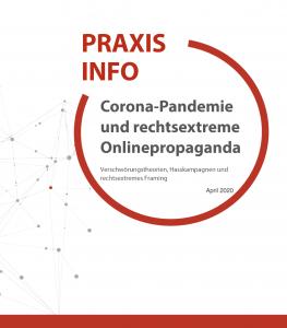Screenshot Broschüre zu Rechtsextremismus im Netz