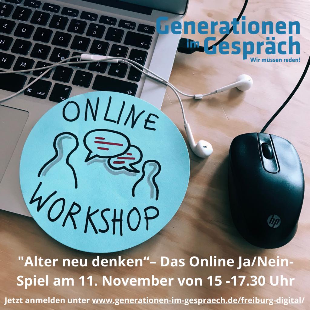 Alter neu denken - ein Online-Workshop