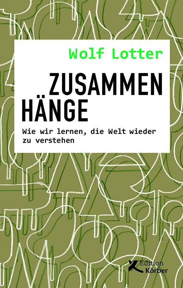 Buchcover von Zusammenhänge
